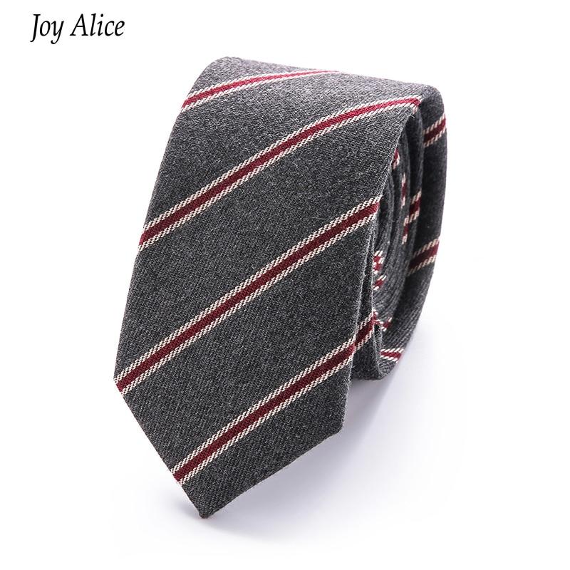 Moda pamuk 6 cm erkek Renkli Kravat Örme Örme Bağları Işlemeli - Elbise aksesuarları - Fotoğraf 2