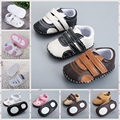 Baby boys/girls Shoes First Walkers Baby half-rubber sole Prewalker Shoes newborn toddler outdoor shoes R7233