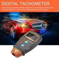 Nouveau tachymètre Photo numérique sans Contact t/mn Tach tachymètre Laser numérique compteur de vitesse jauge de vitesse moteur 2.5 à 99999 tr/min