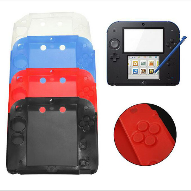 new styles 6216e dce24 US $2.79 |Ultra Thin Soft Silicone Gel Protective Cover Case For Nintendo  2DS Game Console Protection Skin Shell Protector-in Cases from Consumer ...