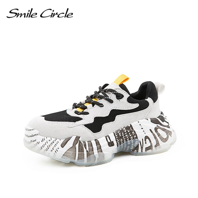 Malla Negro Zapatos Pie 2019 Encaje Gruesa Sonrisa Redondo Zapatillas Del Círculo Plana Mujer Deporte Primavera De Las Fondo Transpirable Plataforma La gris Grueso Mujeres Dedo Zapatilla SYYfxqU