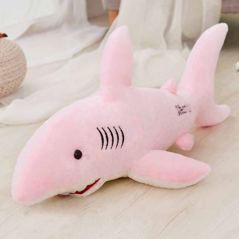 Plush-Toy Decorative-Pillows Children Cute for Shark Baby-Doll Animal Gilfriends Lovely
