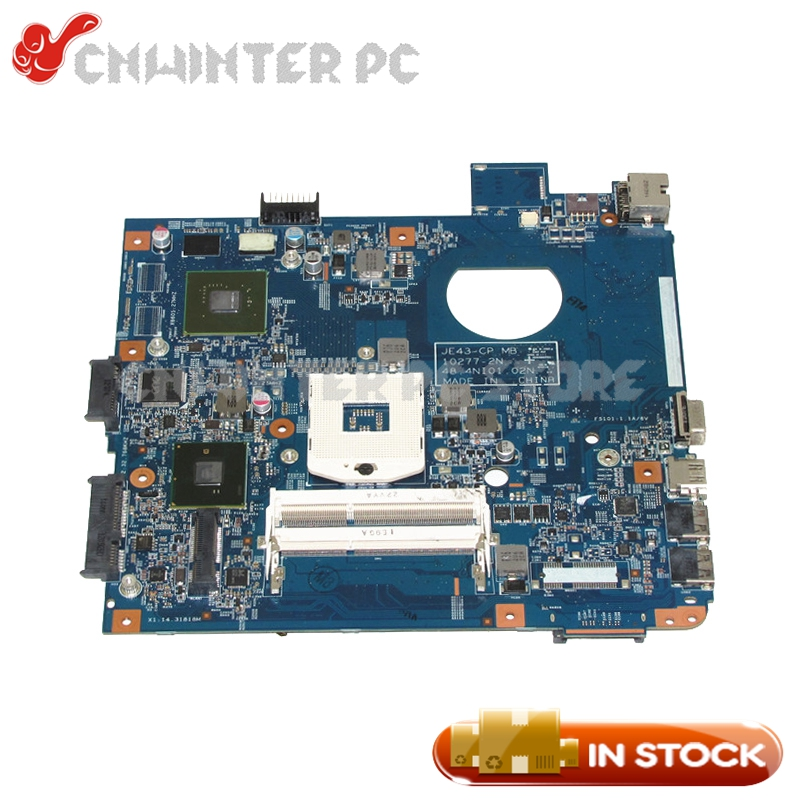 NOKOTION 48.4NI01.02N MAIN BOARD For Acer aspire 4743G Laptop Motherboard HM55 GT610M DDR3 Free CPU high quality mbpm601002 for acer aspire 5740 5740g laptop motherboard hm55 pga989 ddr3 100