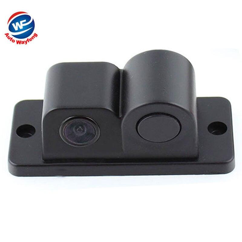 Wayfeng WF Store 2 in1 Parking Camera Sensors Black Sensors Reversing Radar Car Rearview Rear View Camera Reversing Camera Waterproof