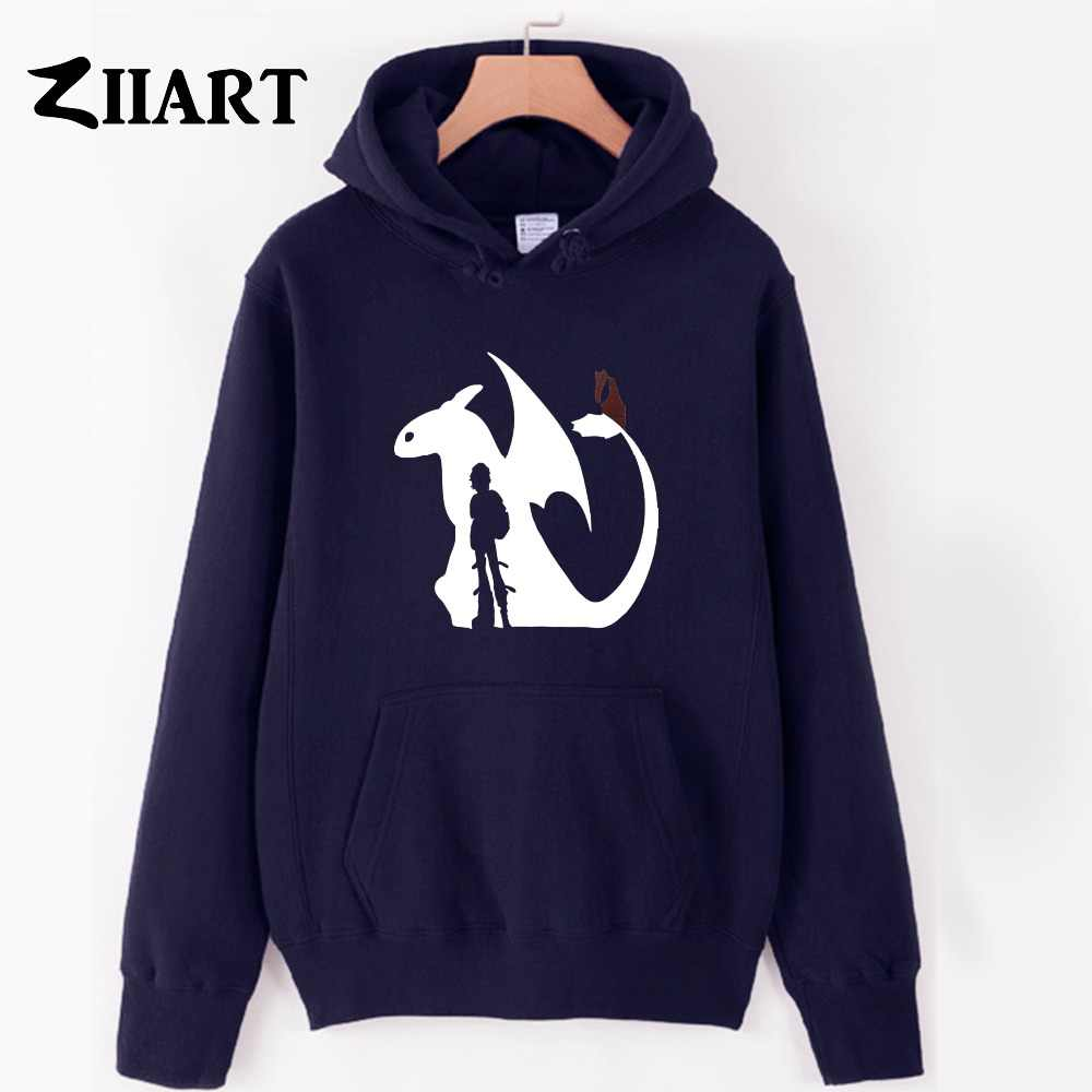 Hiccup Toothless Tail Fin Night Fury how to train your dragon couple clothes boys man male autumn winter fleece hoodies