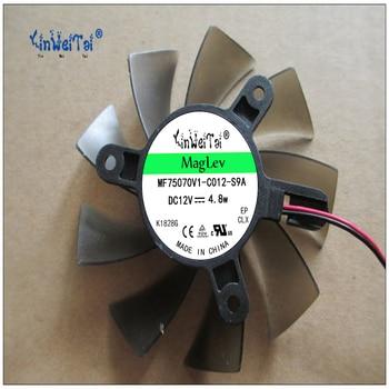 75mm VAG Video Card Fan reemplazo 43mm 2Pin 0.35A PLA08015S12HH 256 en tarjeta de vídeo/GPU Coolin
