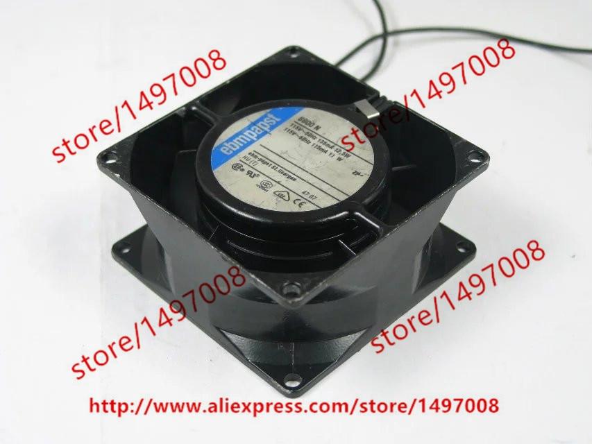 ebmpapst 8800 N 8800N AC 115V 50/60HZ 12.5W 11W 80X80X38mm Server Square Fan ebmpapst 8800 n 8800n ac 115v 50 60hz 12 5w 11w 80x80x38mm server square fan