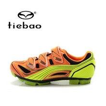 Tiebao Mens Cycling Shoes Mountain Bicycle Shoes Auto-lock Skidproof Bike Shoes MTB Cycling Shoes Sapatos de ciclismo