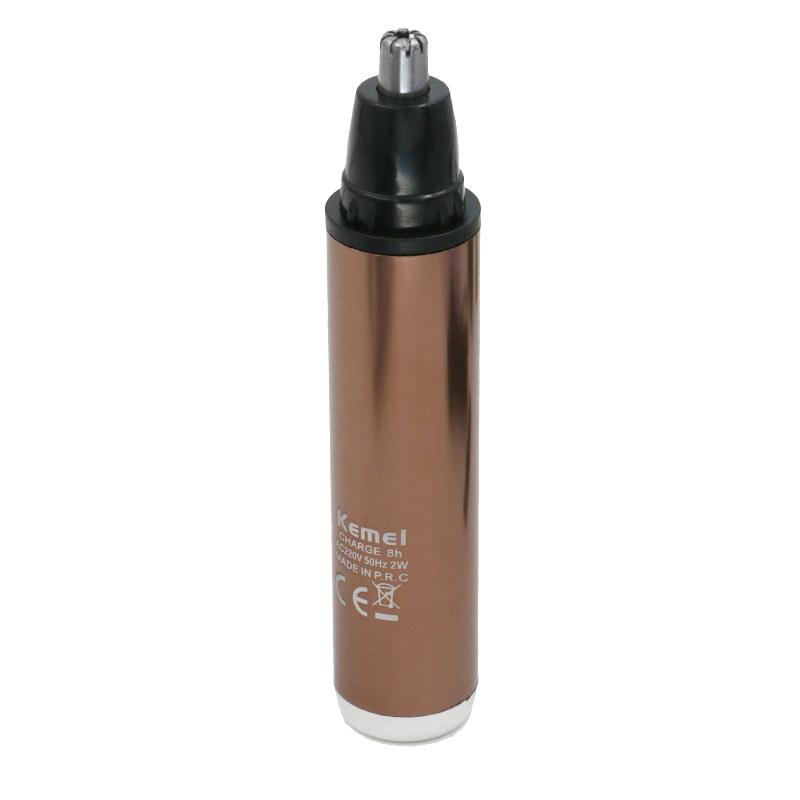 1Kemei Fashion Electric Shaving Nose Hair Trimmer Safe Face Care Shaving Trimmer For Nose Trimer