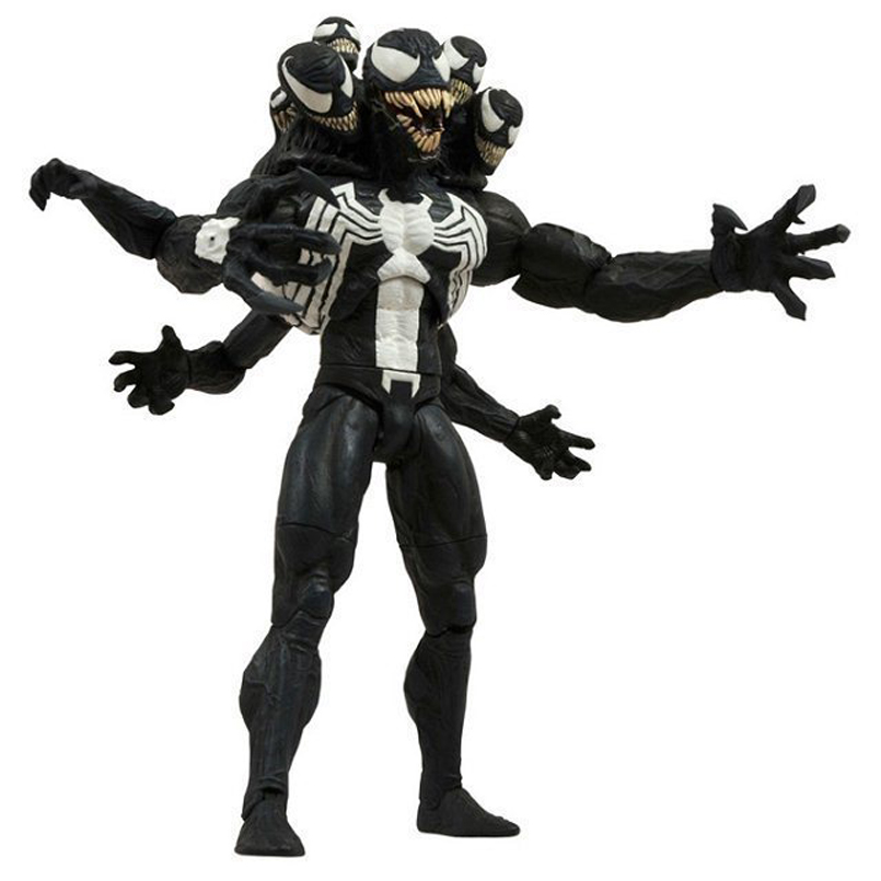 20 CM Spider Man Action Figure Venom Spider PVC Model Web of Spider-Man Edward Brock Super villain Super Hero Collection Toys