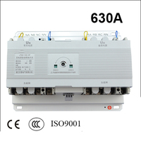 4 Poles 3 Phase 630A Ats Automatic Transfer Switch Without Controller