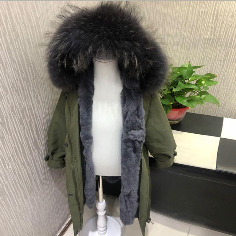 купить Children Clothes Winter Boy Girl Coat Thick Warm Girl Boy Outerwear Fur parka Fashion Long Section Kids Clothing LK155 недорого