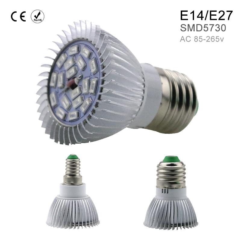 Crescente Lâmpadas interior 18 leds ac85-265v e27/e14 Material : Aluminum