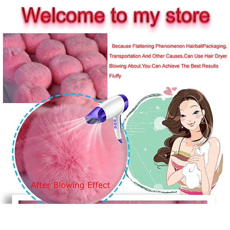 Chaveiro Chaveiro Pompom Bonito Nuvens Brancas Falso Chaveiro Bola de Pêlo Pompom Fofo Encantos Para As Mulheres Chave Saco Chaveiro Anel jóias