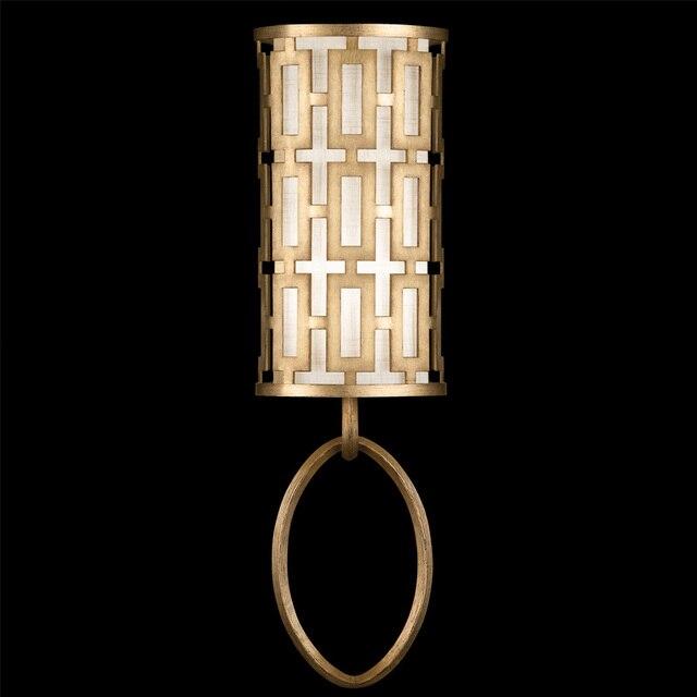 Chinese antieke enkele kop wandlamp ijzer lamp slaapkamer bedlampje ...