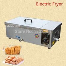 1PC YF-25 deep fryer pot,Commercial Household Stainless Steel Deep Fryer Machine For Potato,Chicken Frying Machine