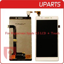 A+ High Quality For Highscreen Spade 5.5 LCD Display + Touch Screen Assembly LCD Digitizer Glass Panel Replacement