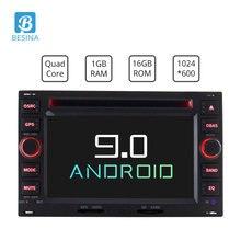 Besina Android 9.0 2 din Auto Lettore DVD GPS Radio Per Volkswagen PASSAT B5 MK5 GOLF POLO TRANSPORTER Radio GPS di navigazione Stereo