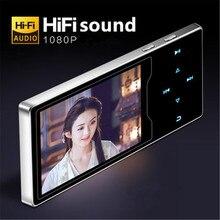 Novo produto ruizu d08 mp3 player usb 8 gb 16g armazenamento 2.4in hd grande tela colorida jogar de alta qualidade rádio fm e book leitor música