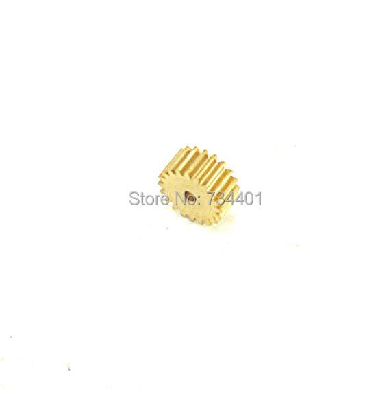 0.5m/19 tooth / hole 2/ metal precision model of micro motor/ rack / spot copper