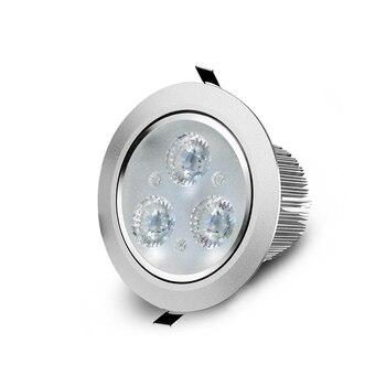Honest Watt LED Downlight 9W / 12W / 15W / 18W LED Lamp Bulb 220V 110V Recessed Lighting Fixture Ceiling Spotlight Not Dimmable LED Down-Lights