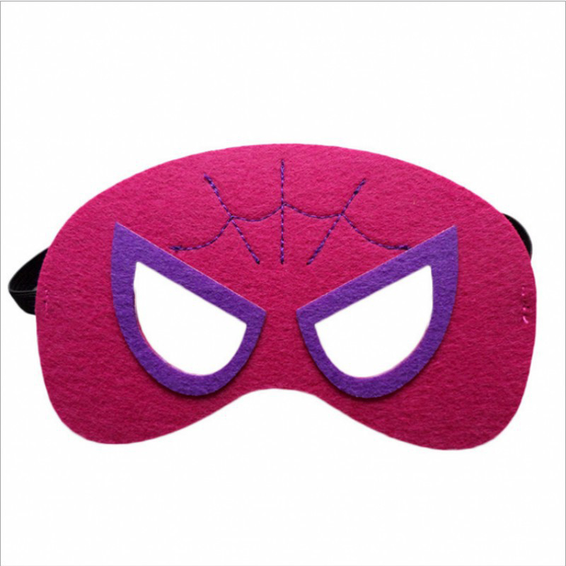 Image 4 - 31pcs Super Hero Masks for Kids Halloween Christmas Birthday  Party Dress up Costume Cosplay Mask Kids Children Party Favor GiftBoys  Costume Accessories