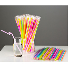 Multicolor Straws 50 pcs/lot