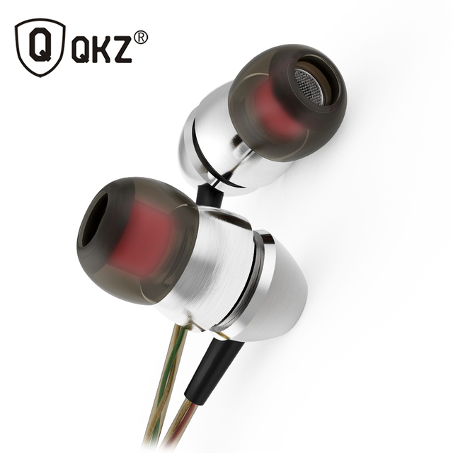 QKZ X8 In Ear Earphones Earbud Music Bass Mobile Phone Computer Headset go pro Head Phones Studio fone de ouvido auriculares
