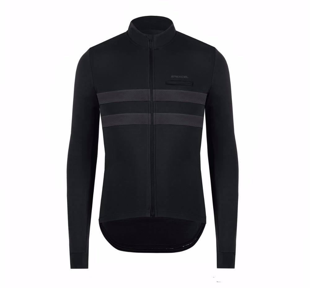 2018 neue SPEXCEL qualität Winter Frühling Thermische fleece Reflektierende Radfahren Jersey langarm Radfahren kleidung Klassische kühle design
