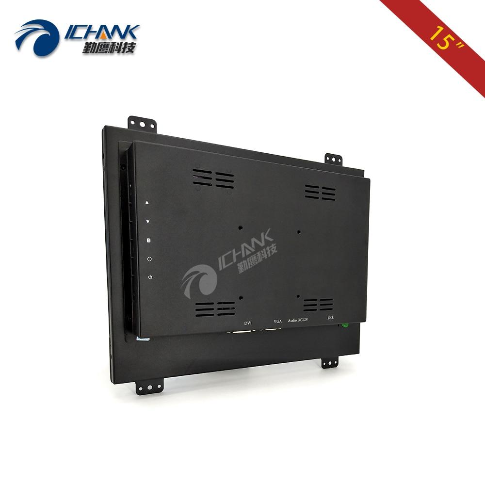 ZK150TN-DV / 15 inch 1024x768 HD DVI VGA-metalen behuizing Ingebouwd - Computerrandapparatuur - Foto 4