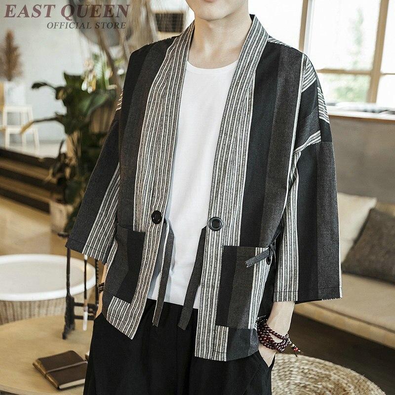 Japanese kimono traditional kimono cardigan casual fashion japanese clothing kimono robe cardigan new arrival 2018 AA3867 Y A