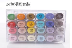Image 4 - Copic szkic markery 12 sztuka pędzelek artystyczny zestaw markerów japonia