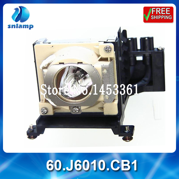 Фотография High quality Compatible projector lamp 60.J6010.CB1 for PE6800
