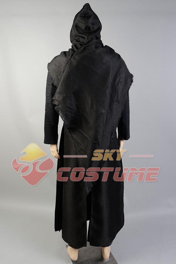 Nieuwe Star Wars 7: The Force Awakens Kylo Ren Uniform Manteljas - Carnavalskostuums - Foto 4