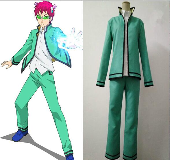 Saiki Kusuo no Psi Nan The Disastrous Life K Nan Uniform Cosplay Costume CM002