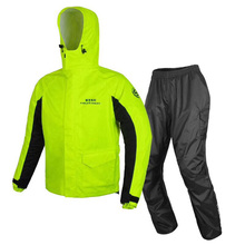 Raincoat Motorcycle suit (clothes + trousers) Outdoor Knight of God Travel Reflective Safety