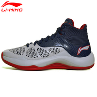Li Ning Men S Basketball Shoes Cushion Sneakers Culture Performance Breathable Sports Shoes ABPM005 XYL098