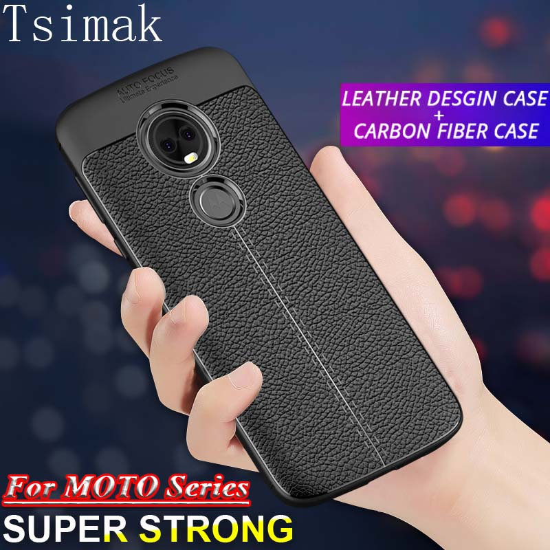 Silicone Case For Motorola Moto G6 Plus G5 G5s E5 E6 G7 Power Z2 Z3 Z4 Play P30 Note One P40 Cover Back Phone Coque