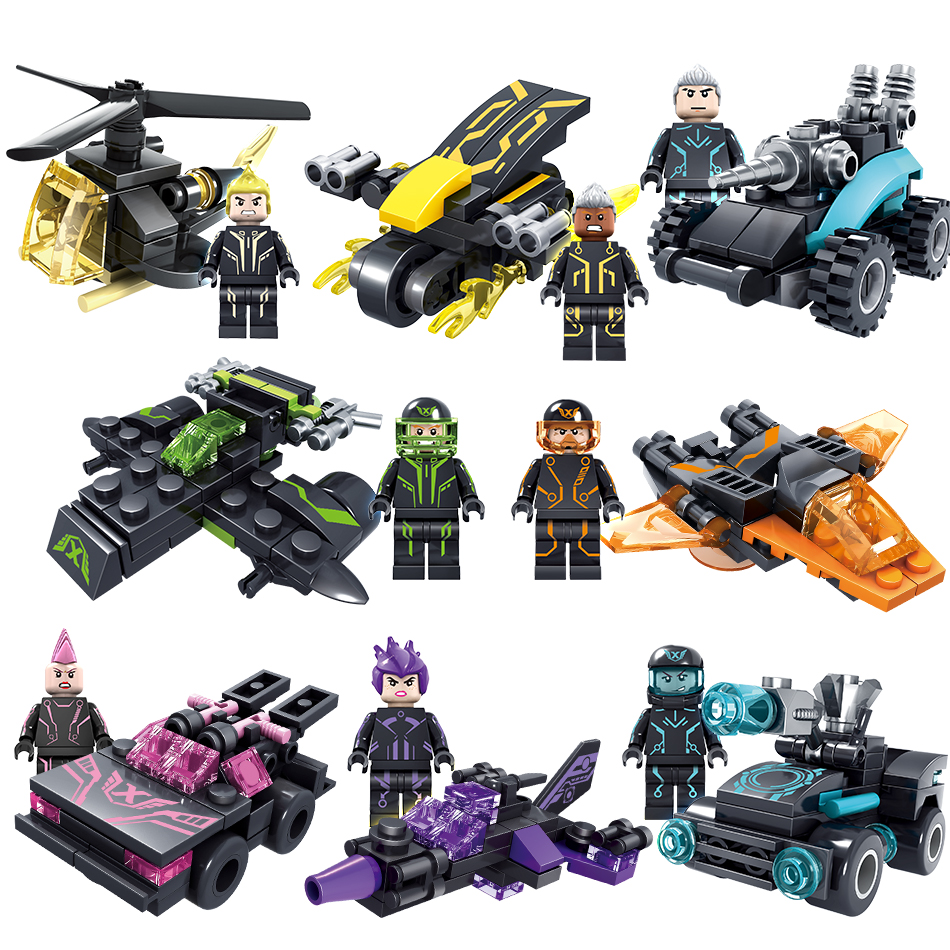 City Technic Police Blocks Toys Compatible Legos Technic City Mini Car Arms Police Figures Building Blocks Set Toys For Children police pl 12921jsb 02m
