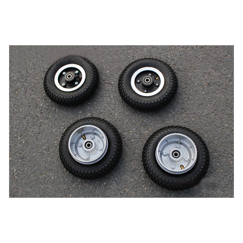 Free Shipping 1pcs PU 200*50mm Electric Skateboard Wheels Long Board Electrical Skateboard Off-road Inflatable Round Wheels