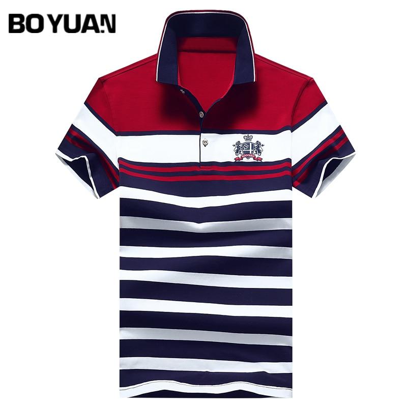 BOYUAN font b Men b font Polo font b Shirt b font Short Sleeve Polo Homme
