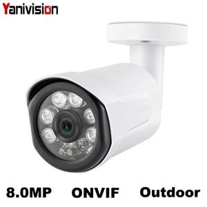 POE 8MP Bullet IP Camera Outdo