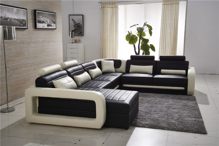 High quality luxury leather sofa,sofa leather set-in ...