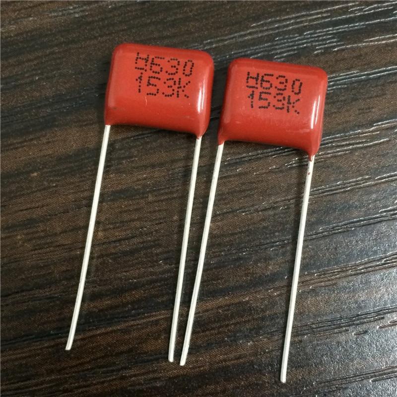10Pcs Metallized Polypropylene Film Capacitor 100V 0.015uF 15nF 153 153J CBB