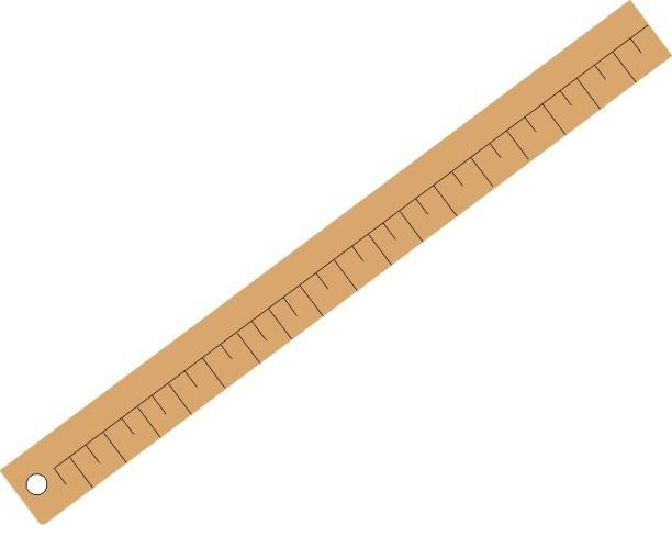 PDR pcs Drawing nice Template Ruler Green Plastic Student Lab Stationery Measuring Tool Ruler School Supplies