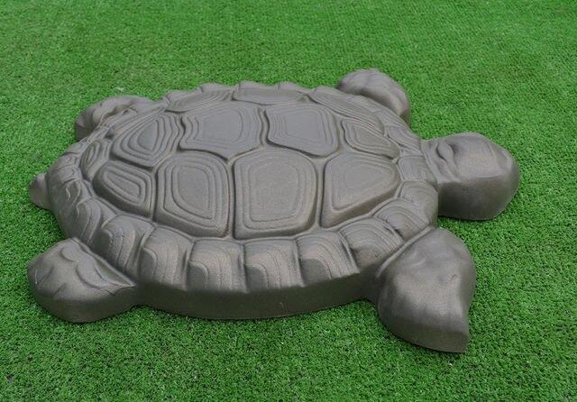 Diy Garden Path Paving Maker Concrete Mold 3d Turtle Tortorise Stone Decor Garden Pond Aquarium
