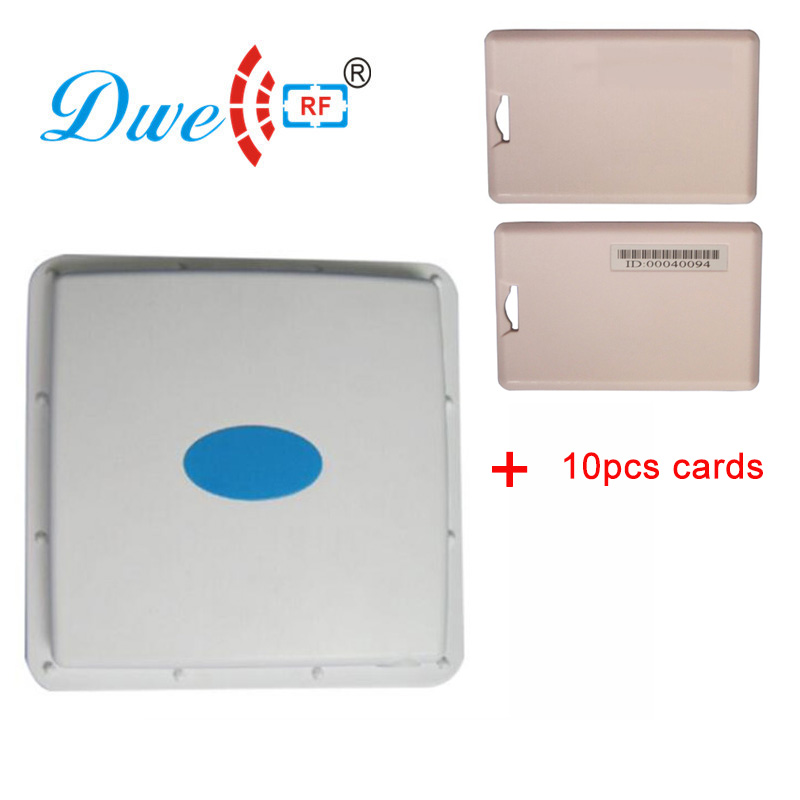 купить DWE CC RF security protection active 2.4ghz directional antenna rfid reader with active cards онлайн