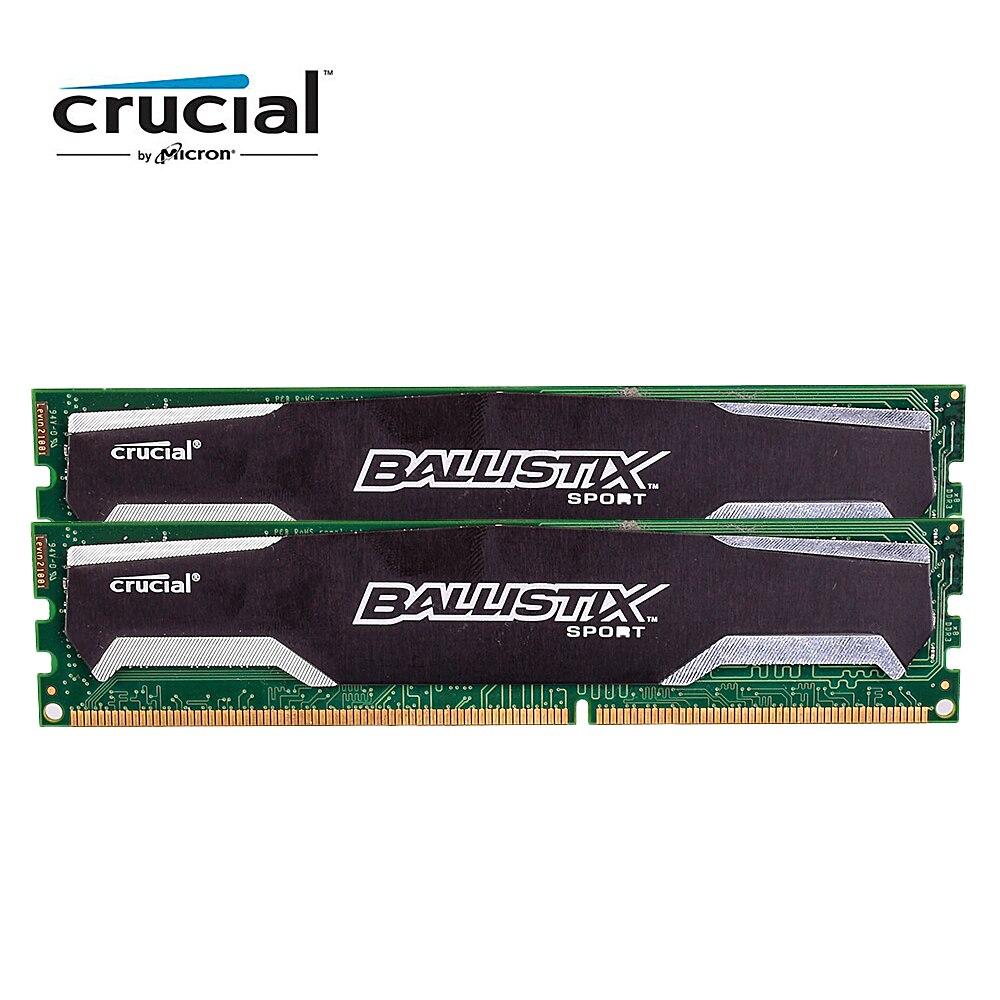 Crucial Ballistix Sport DDR3 8G 1600 MHZ 1.5 V CL9 240pin PC3-12800 Bureau Mémoire RAM DIMM