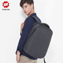 Tigernu Causal Water Repellent  Anti theft Men 15.6 inch Laptop Backpacks 24L Schoolbag for Boys Business Travel Male Mochilas