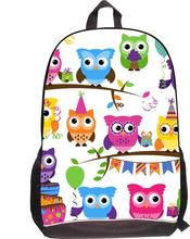Fashion School Backpack Cat Tiger Owl Printing Zoo Backpack Cool Animal Crazy Horse Boys Backpack for Teenager Travel Rucksack